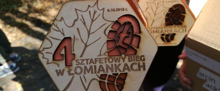 Sztafetowy Bieg w Łomiankach